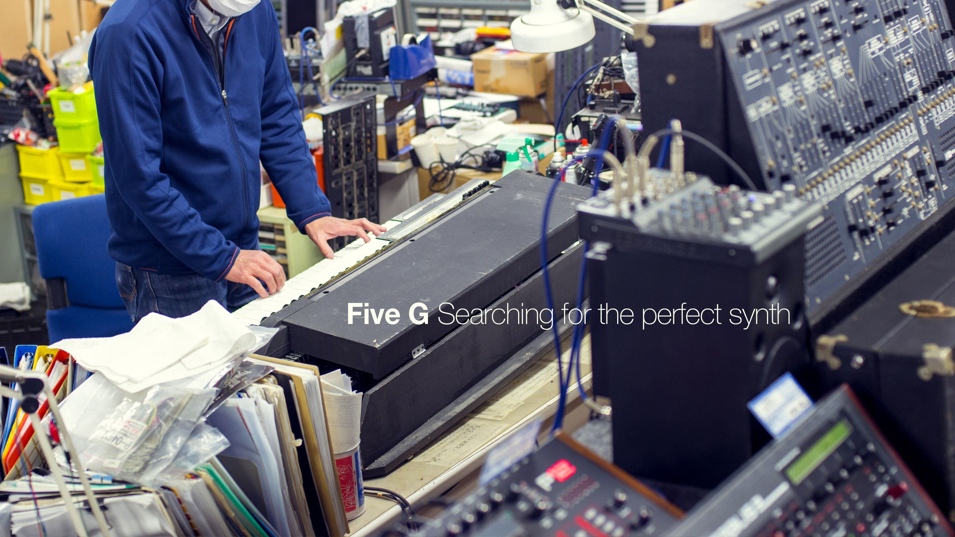 Five G: Searching for the perfect synth