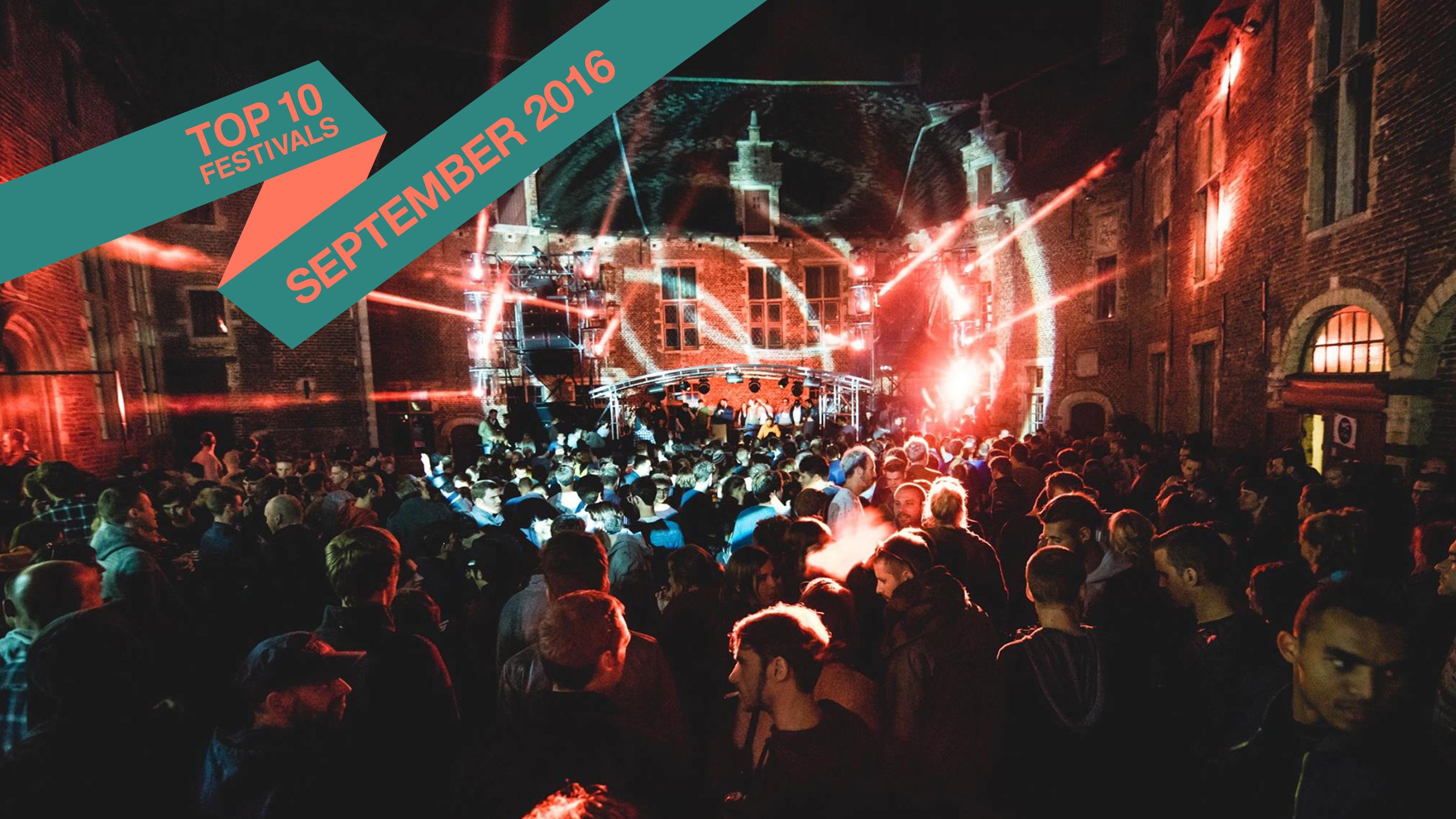 Top 10 September 2016 Festivals