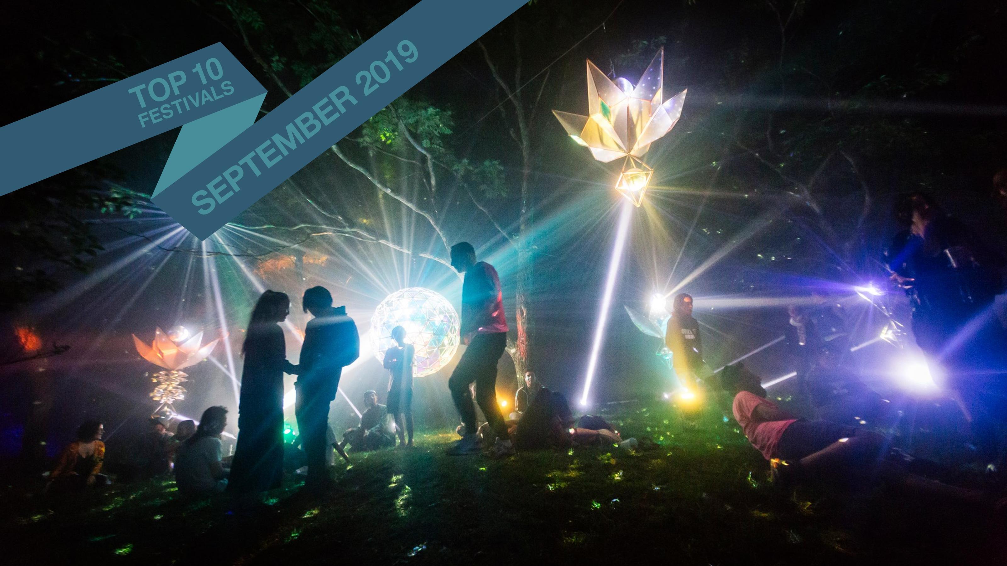 Top 10 September 2019 Festivals