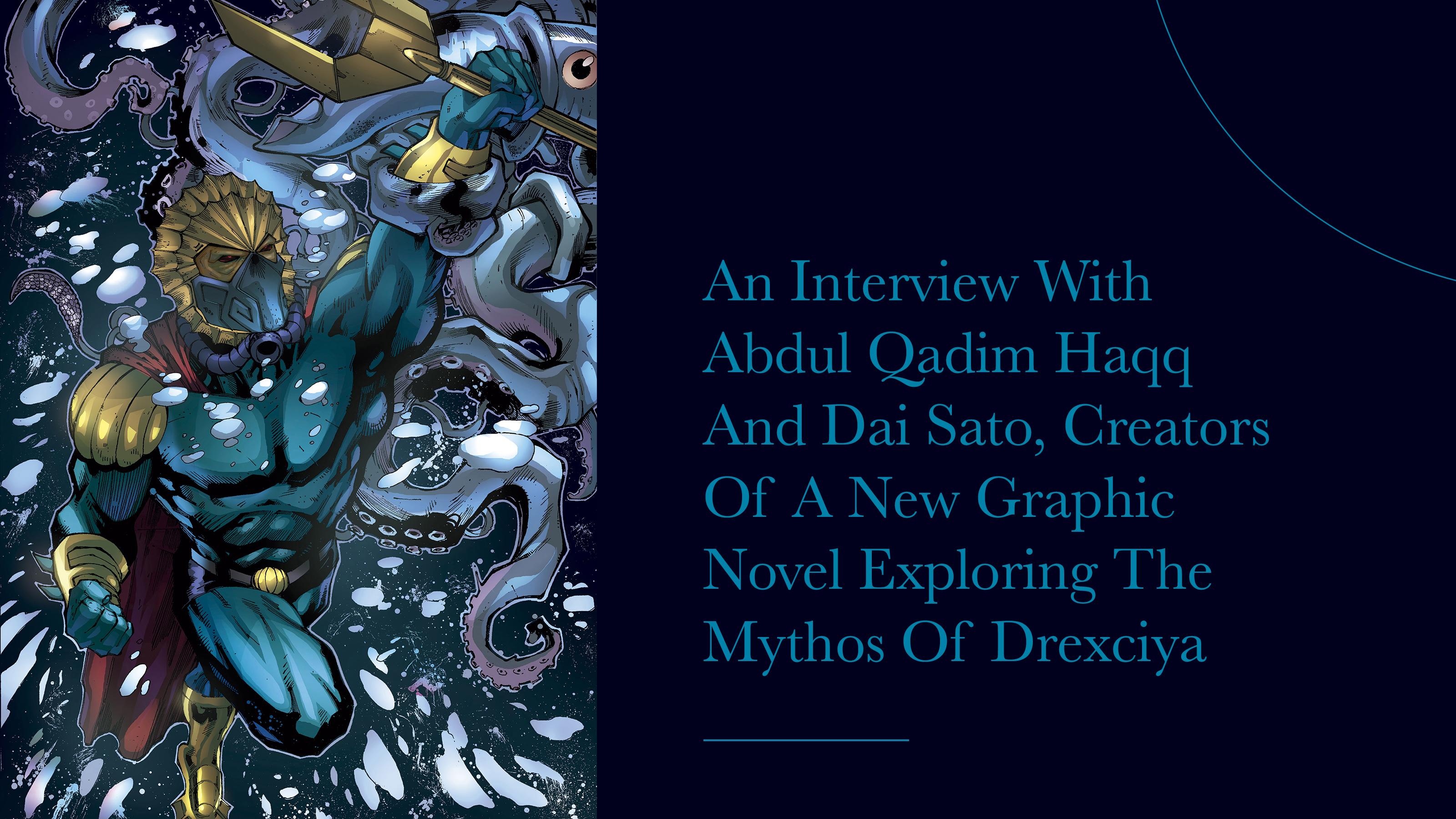 Drexciyaの神話を掘り下げる新たなグラフィックノベルの著者、Abdul Qadim Haqqと佐藤大へのインタビュー