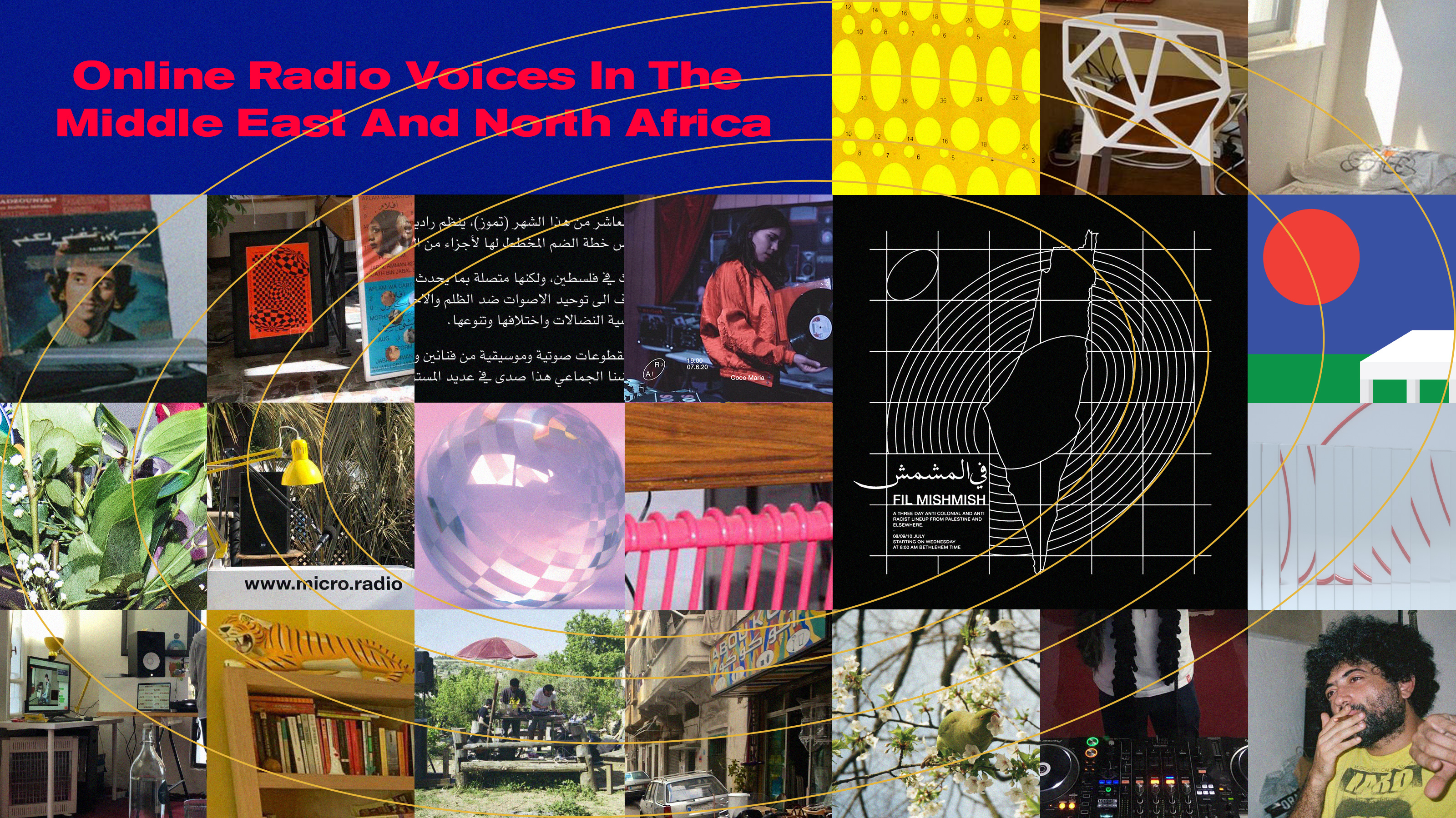 Online Radio Voices In The Middle East And North Africa