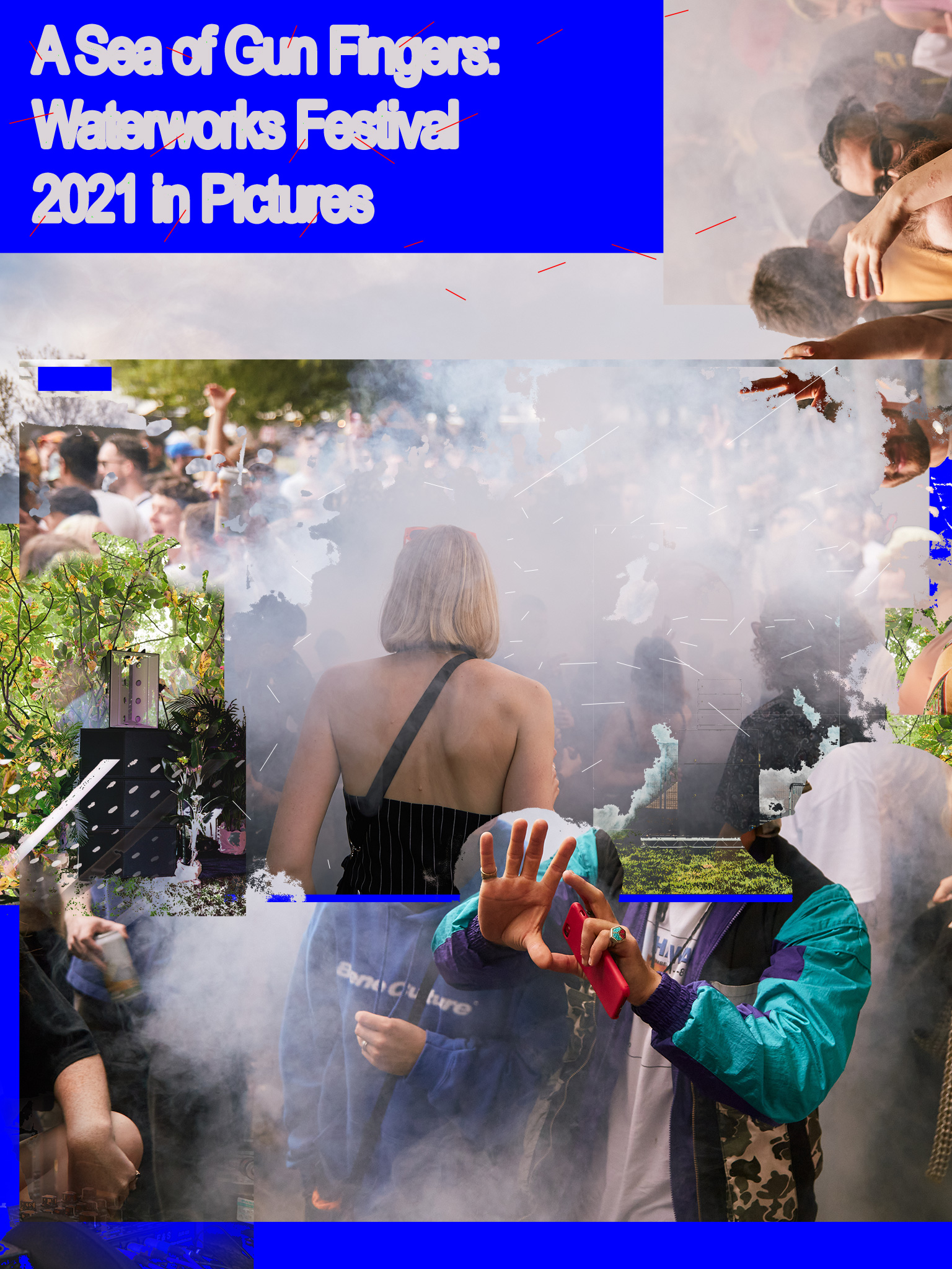 A Sea of Gun Fingers: Waterworks Festival 2021 in Pictures